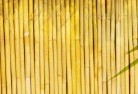 Albanvale Bamboo fencing 4