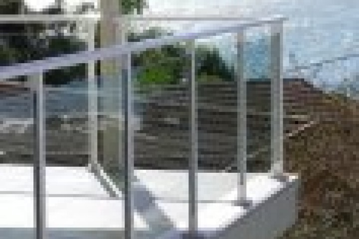 Temporary Fencing Suppliers Glass balustrading 720 480